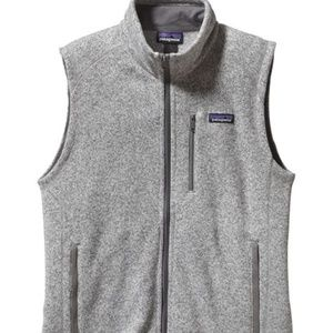 NWT Patagonia Better Sweater Fleece Vest Stonewash